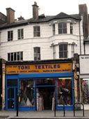 fabric shops in london | soho, shepards bush, east london