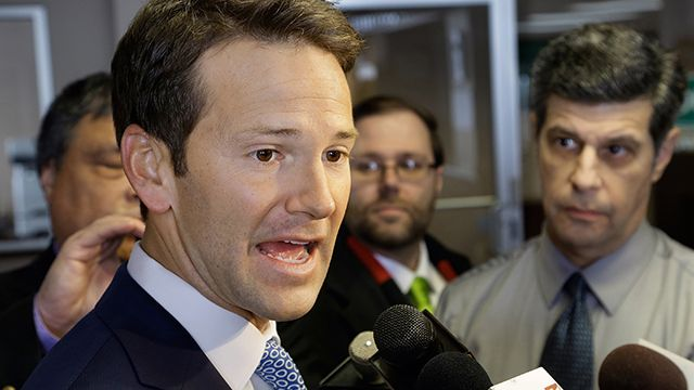 Congressman Aaron Schock resigns. Once people stopped laughing at his lavish office makeover, closer scrutiny of his spendthrift ways caused the Illinois representative's downfall.