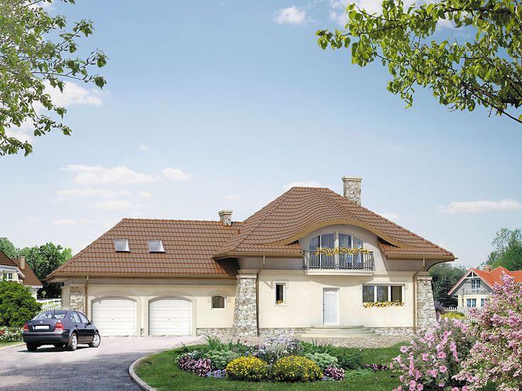 DOM.PL™ - Projekt domu MT Alfa 2 CE - DOM ST1-37 - gotowy projekt domu