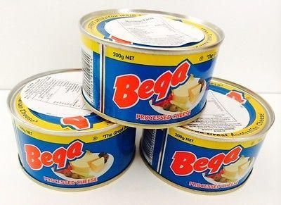 6 cans of Bega Cheese, 200g 7oz, Real Cheese in a Can
