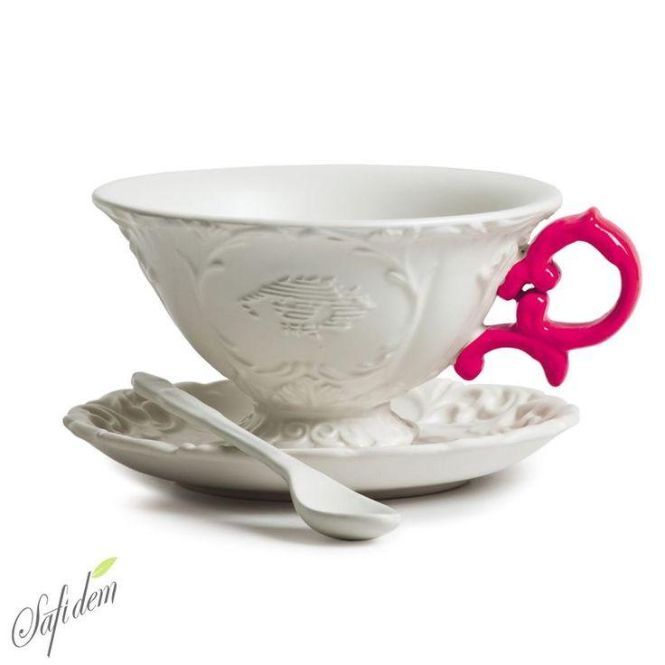 Seletti I- Tea Fuşya Fincan satışta www.safidem.com
