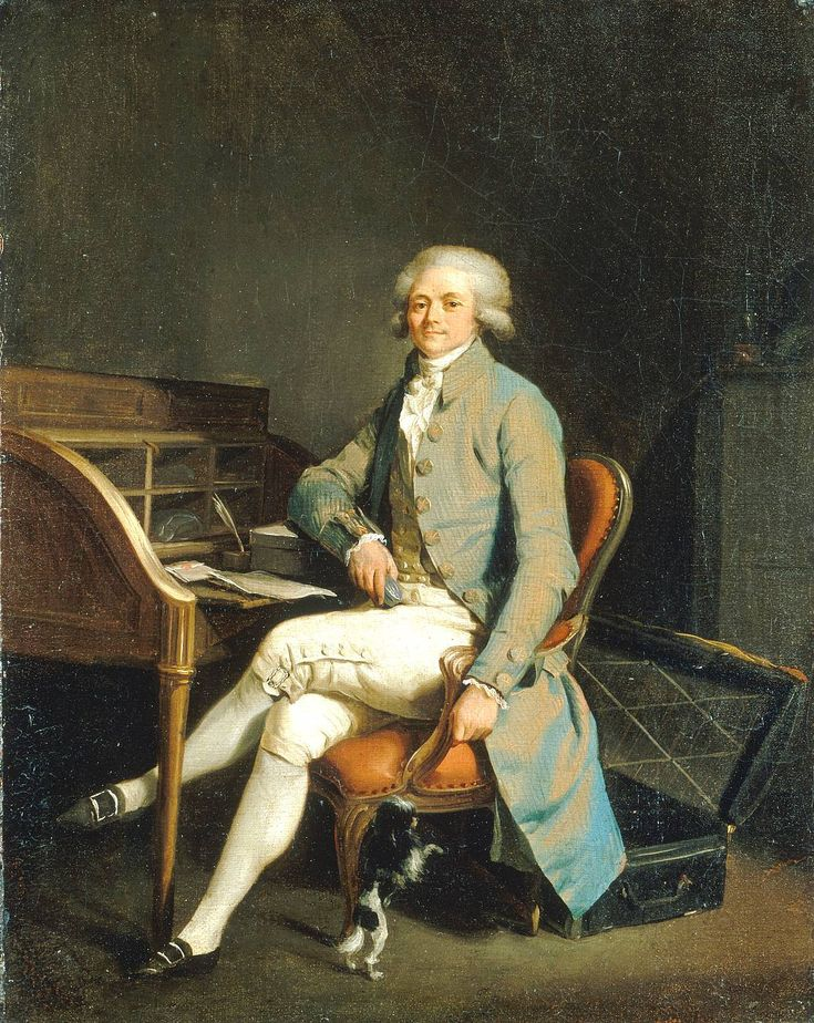 Louis Léopold Boilly - Maximilien Robespierre !