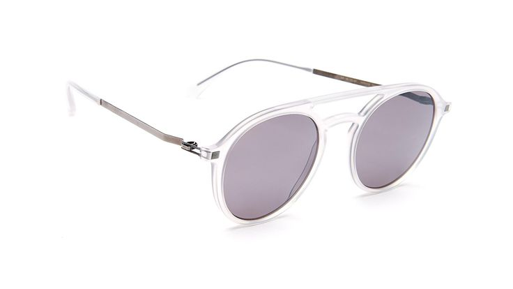 TUPIT-Coconut Water / Solid Grey / Silver Mirror | Black Optical