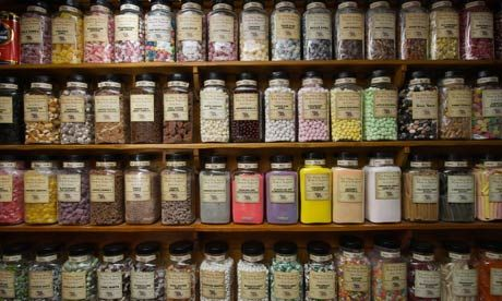 The oldest sweet shop in England  Pateley Bridge, North Yorkshire.