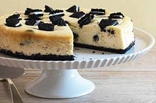Easy Oreo Cheesecake! - DELICIOUS! I usually leave the oreos out of the cheesecake filling and just use them as the crust and it turns out great!