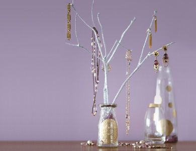 14 best w jewelry stand images on pinterest diy jewelry jewelry do it yourself jewelry tree mason jar glass branches solutioingenieria Image collections