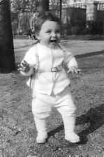 Vintage photo of Brigitte Bardot`s Son Nicholas, smiling. -