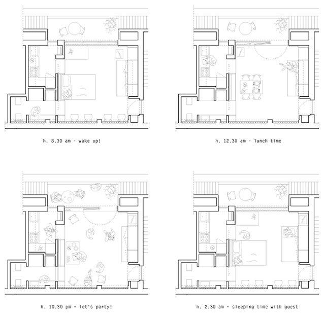 我們看到了。我們是生活@家。: 米蘭studioWOK挑戰這間約8坪的小套房,給人更舒適居住的可能!