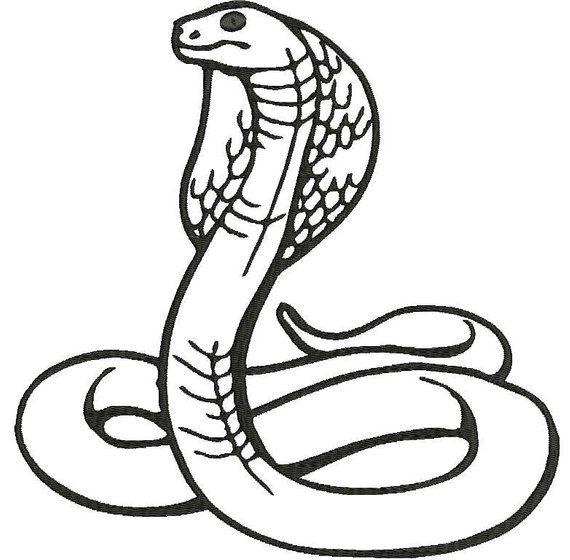 30++ Cobra snake clipart black and white information