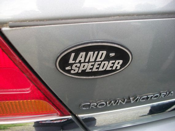 Land Speeder Custom Car Emblem by Empira on Etsy, $15.00