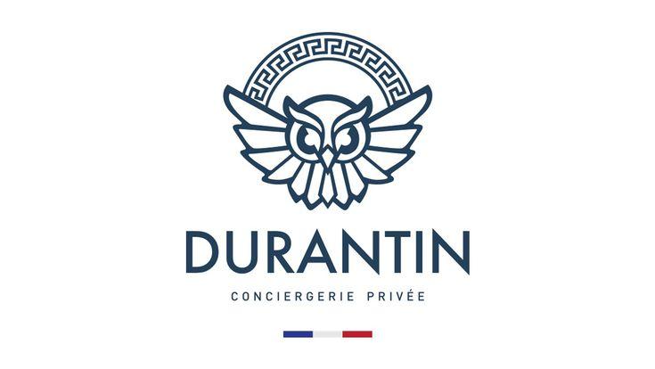 Projets // Durantin, conciergerie privée à Montpellier, a confié à notre équipe la réalisation de son Logo, ses cartes de visite et ses coffrets d'adhésion personnalisés. #logo #conciergerie #luxe #montpellier #prestige #coffret #carte #graphic #france #luxury #agence #impression #print