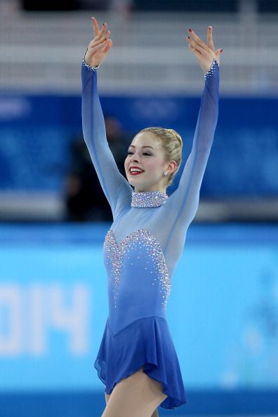 Gracie Gold - One of my favorite figure skaters! And I really miss the ice so freaking much when I look at this picture :(
