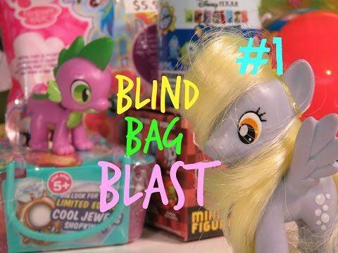 Derpy & Spike BLIND BAG BLAST #1 - YouTube