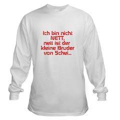 ich bin nicht NETT, nett ist der kleine Bruder von> the best/all designs> MehrFarbeimLeben