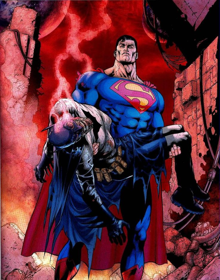 """The Death of Batman"" - Final Crisis 6 - Batman RIP by Doug Mahnke"