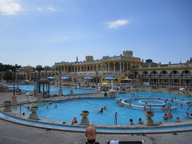 Hungarian Thermal Baths by adriennw, via Flickr