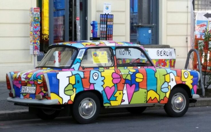 Trabant Car, East German Car, Berlin