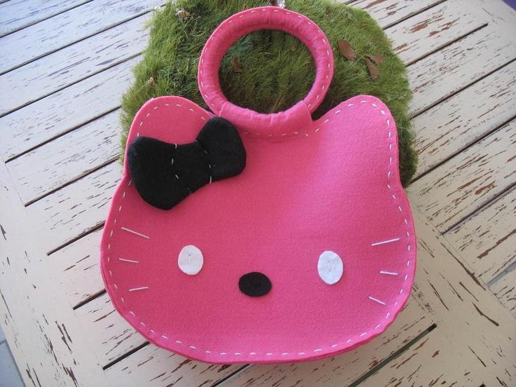Borsa Hello Kitty, by hand-made, 25,00 € su misshobby.com