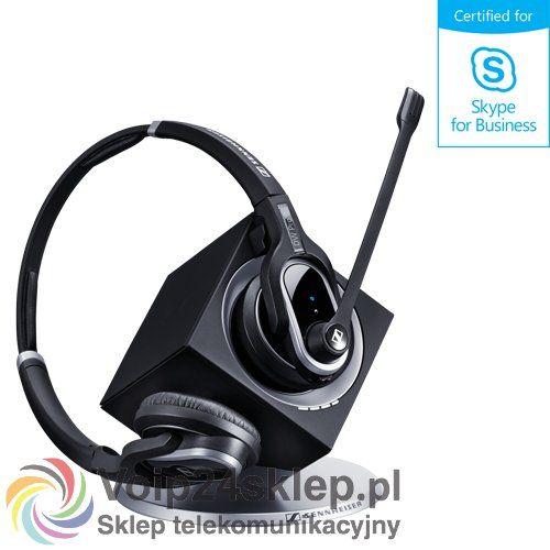 Słuchawki bezprzewodowe Sennheiser DW30 USB ML - EU (DW PRO2 USB ML) - SKYPE FOR BUSINESS