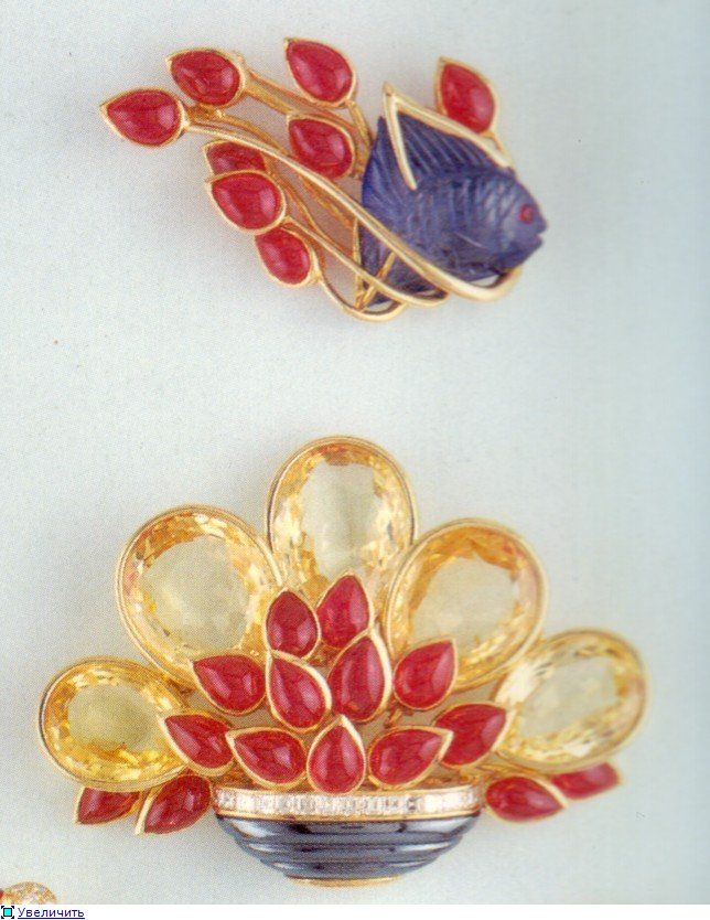 Antique Art Deco jewelry by Tiffany. Discussion on LiveInternet - Russian Service Online Diaries.