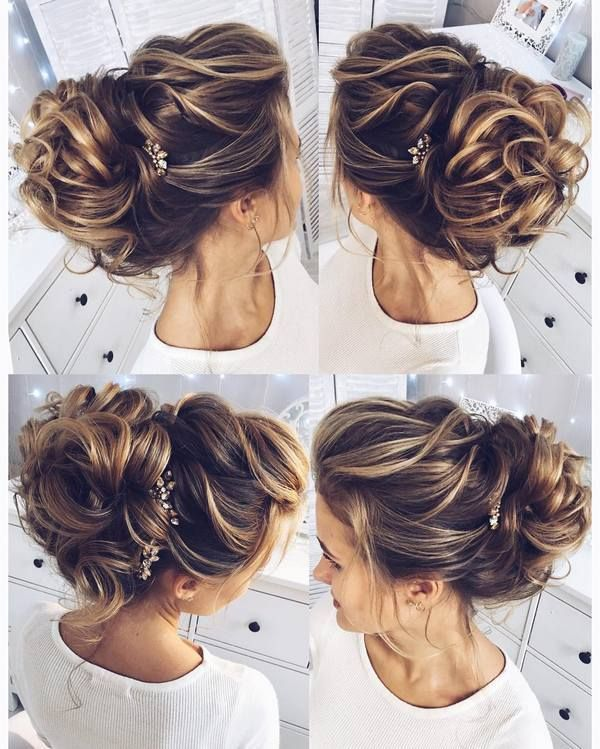 Simple Formal Hairstyles For Thin Hair : 25 best long hair wedding updos ideas on pinterest updo for