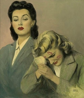 There is something quite Bette Davis and Joan Crawford about this!