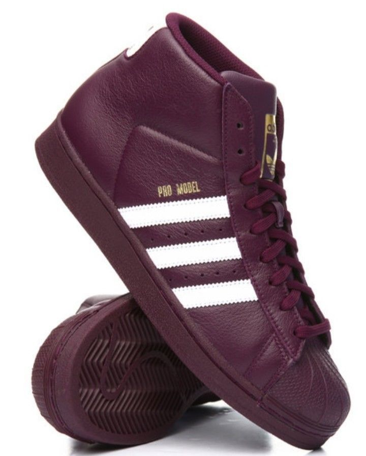 650f73825bd Adidas Maroon Burgundy 789002 Size 9 Pro Model Hightop Mens Shoes  fashion   clothing  shoes  accessories  mensshoes  athleticshoes (ebay link)