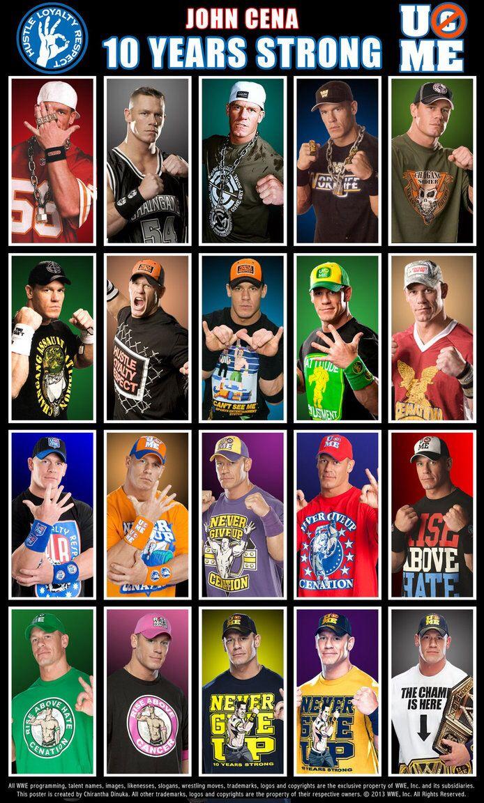 John Cena 10 years strong
