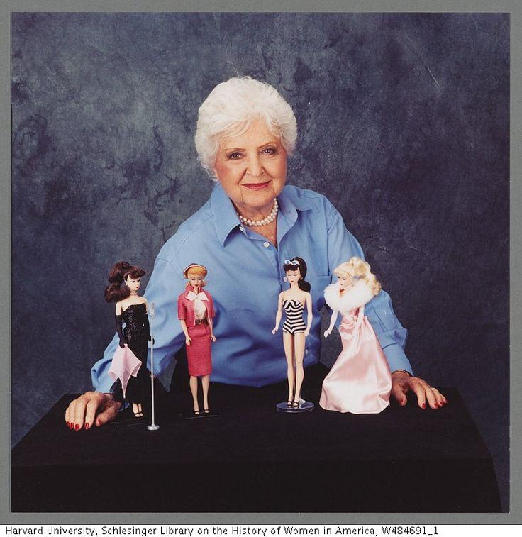 Ruth Handler and vintage Barbie dolls!