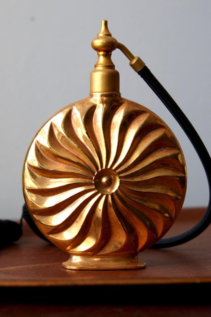 Vintage Marcel Franck perfume atomizer.