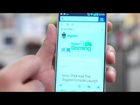 UC Browser for Android , iOS and Windows Phone Hands On Review
