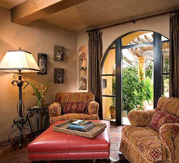 Tuscan living room decorating ideas ideas for a for Tuscan decorations for home