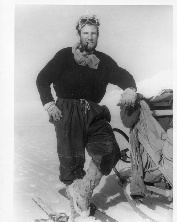 David (Dai) Wild - geographer, mountaineer, and winner of the Polar Medal (pic via http://www.antarctic-monument.org/index.php?page=dai-wild)