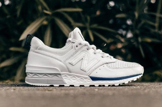 This New Balance 574 Sport Comes With A White Leather Upper ...