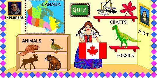 Week 21 - Canadian Explorers  Enchanted Learning: Canada Zoom School