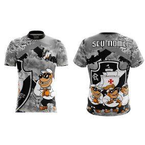 Camiseta Torcida Vasco Da Gama-irmãos Metralha  68de15aff704d