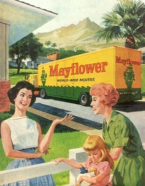 70 best images about vintage moving on pinterest 1920s for Mayflower car shipping