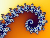 A section of the Mandelbrot set following a Logarithmic spiral - Wikipedia