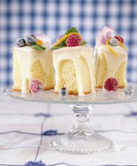 tea cakes, simple yet elegant.