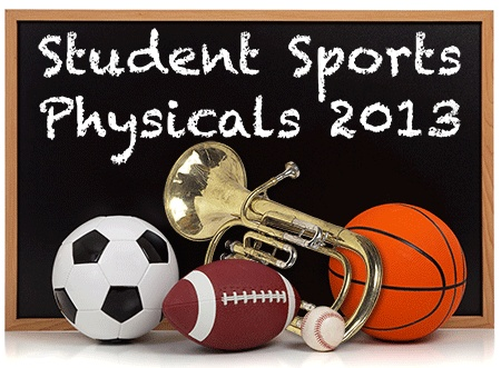 We offer Camp/Sports/School Physicals - no appointment needed!