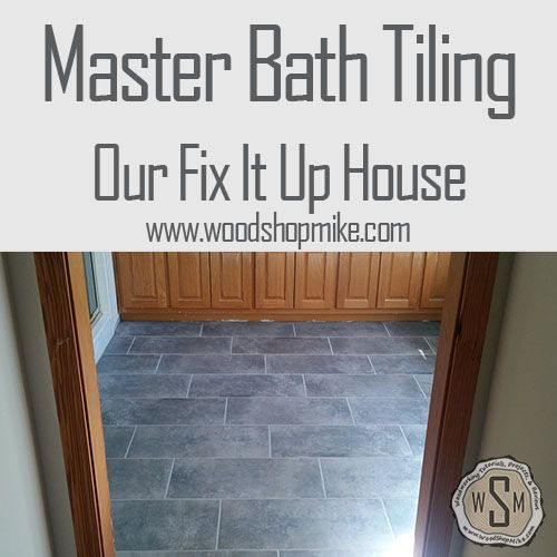 Updating our master bathroom flooring was a must!  Check out this post to see how I repair floor damage from a leaky toilet and go from carpet and linoleum flooring to a beautiful ceramic tile escape.  #renovation #reno #remodel #fixitup #home #house #DIY #doityourself #flooring #construction #carpentry #homeimprovement #tile #tileflooring #tilefloor #tiling #cementboard #ceramic #bathroom #masterbathroom #toiletrepair #leak #waterleak