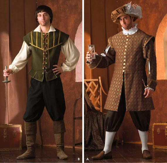 Simplicity Sewing Pattern 4059 Men Costumes