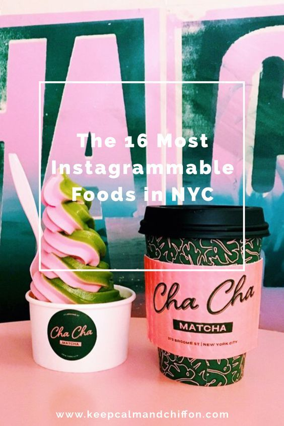 The 16 Most Instagrammable Foods In NYC