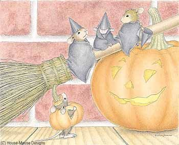 """""""Monica, Mudpie, Maxwell and Amanda"""" from House-Mouse Designs"""