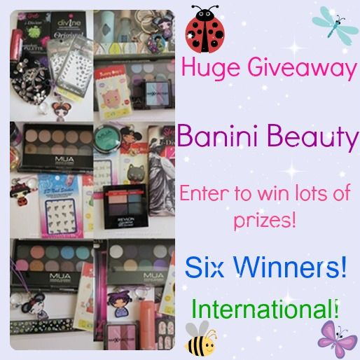 Giveaway at Banini Beauty