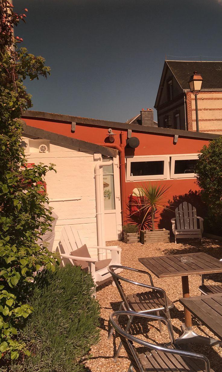 Hotel Angleterre Etretat  #La Terrasse