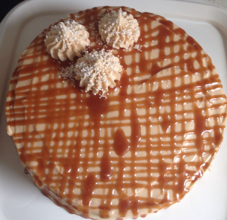 Salted caramel cake (BAKED's Antique Caramel Cake)