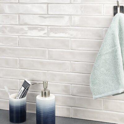 Ivy Hill Tile Newport Polished 2″ x 10″ Ceramic Subway Tile Color: Gray