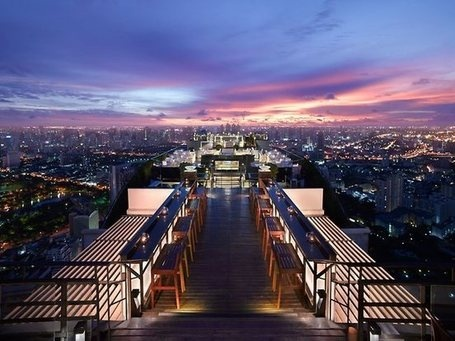 Link to some of the most amazing rooftop bars in the world!! Thailand: The Vertigo, Bangkok