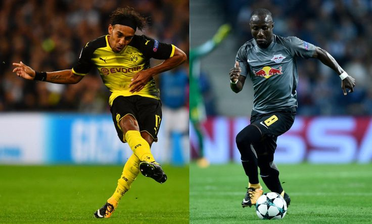 Borussia Dortmund's Pierre-Emerick Aubameyang and RB Leipzig's Naby Keita have both been named on the shortlist for the African Player of th...